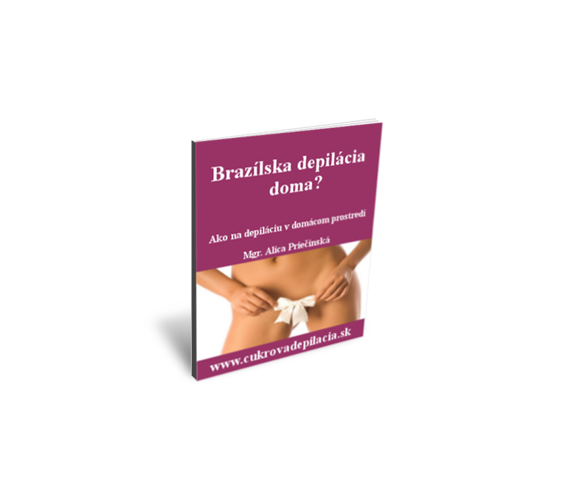 eBook Brazílska depilácia